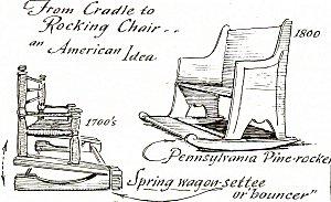 Terrific The Early American Rocking Chair Inzonedesignstudio Interior Chair Design Inzonedesignstudiocom